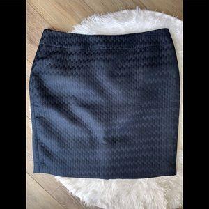 Ann Taylor Loft Pencil Skirt, navy blue, size 14